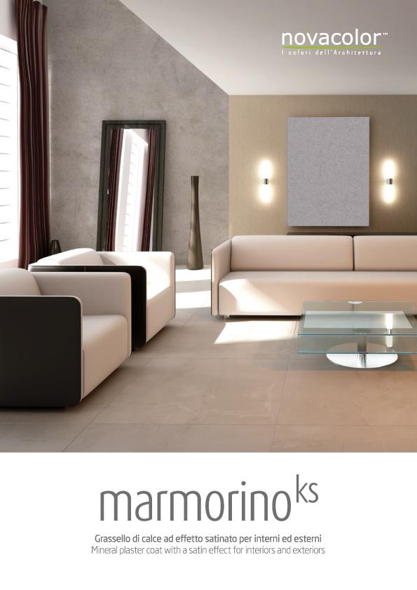 brochure marmorino ks novacolor france novacolor france. Black Bedroom Furniture Sets. Home Design Ideas